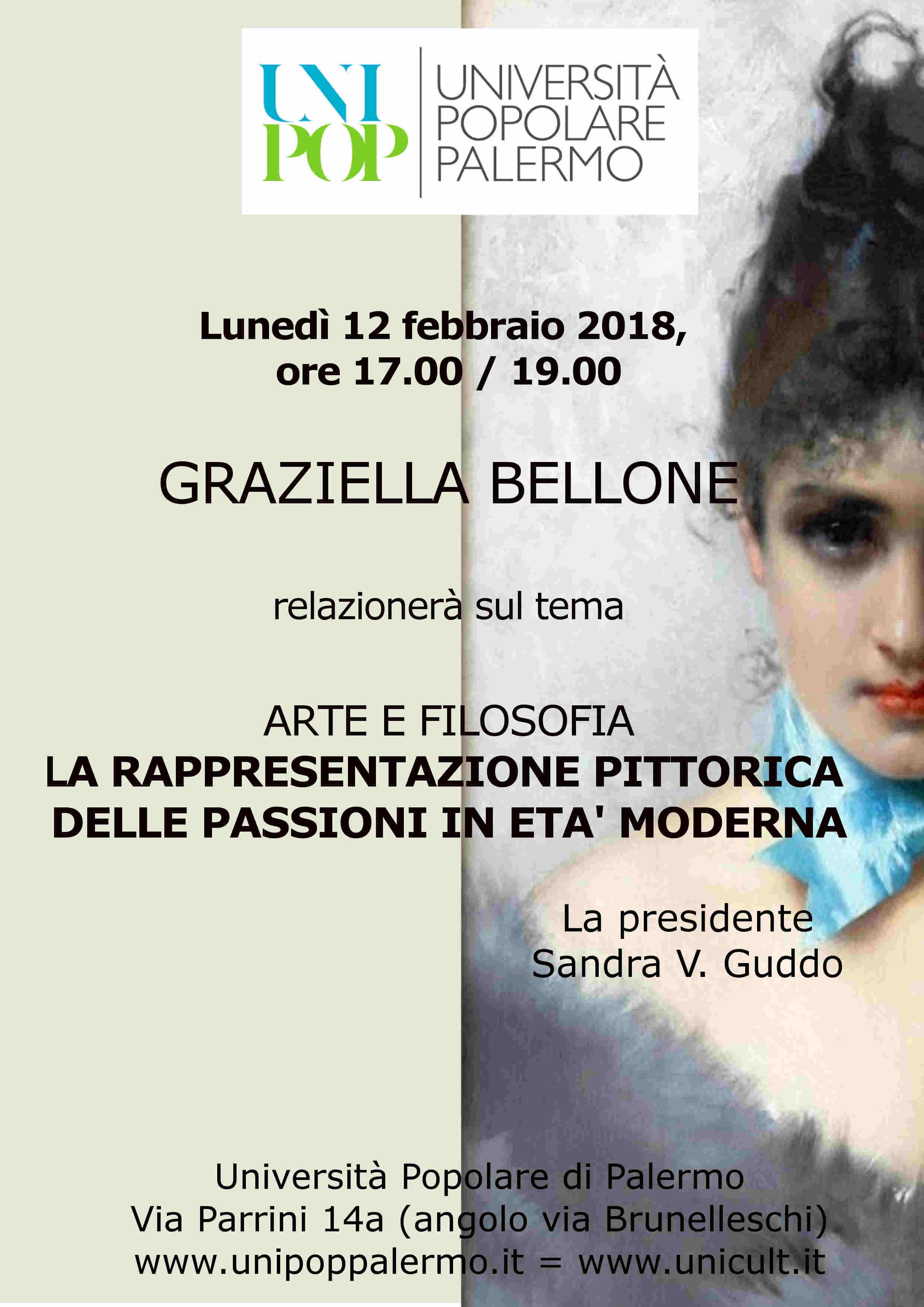 CONFERENZA D'ARTE    con   Graziella Bellone